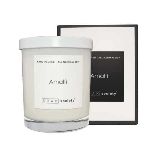 Amalfi Candle White Stacked